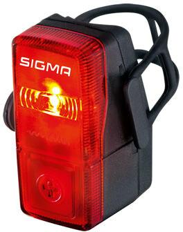 Sigma lampka rowerowa tylna CUBIC FLASH czarna 15915,4016224159154