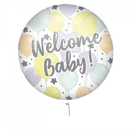 Balon foliowy na powitanie dziecka Welcom Baby