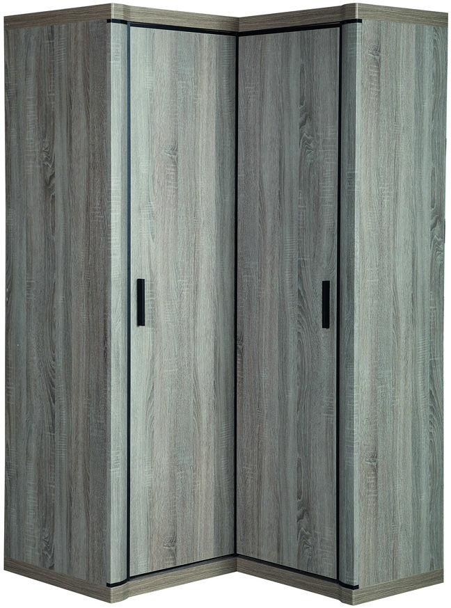 Szafa narożna dąb truflowy - Verna - 2 kolory