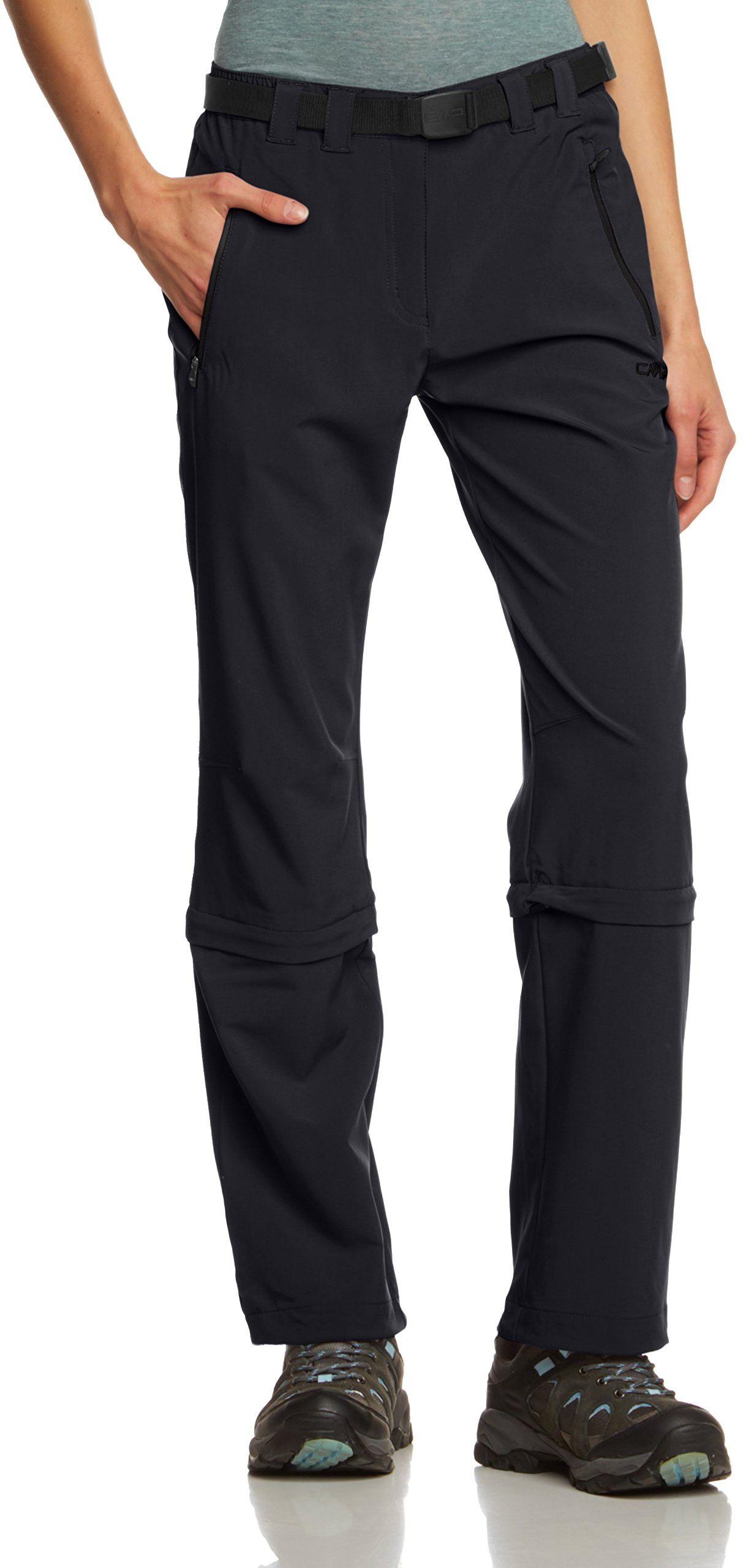 CMP damskie spodnie z odpinanymi nogawkami 3T51346, kolor antracytowy, 2XL