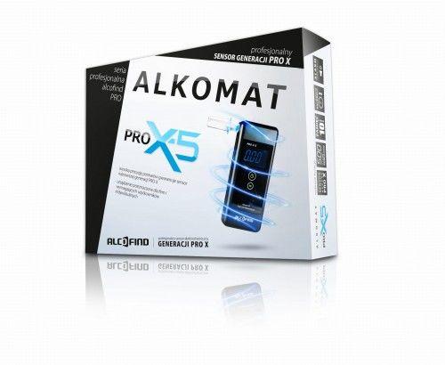 Alkomat PRO X5 - Kalibracje Bez LIMITU przez 12 miesięcy - ustniki gratis !