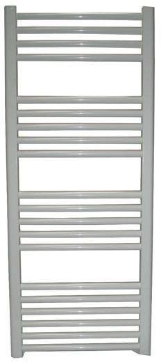 Grzejnik łazienkowy wetherby - elektryczny, wykończenie proste, 500x1200, biały/ral