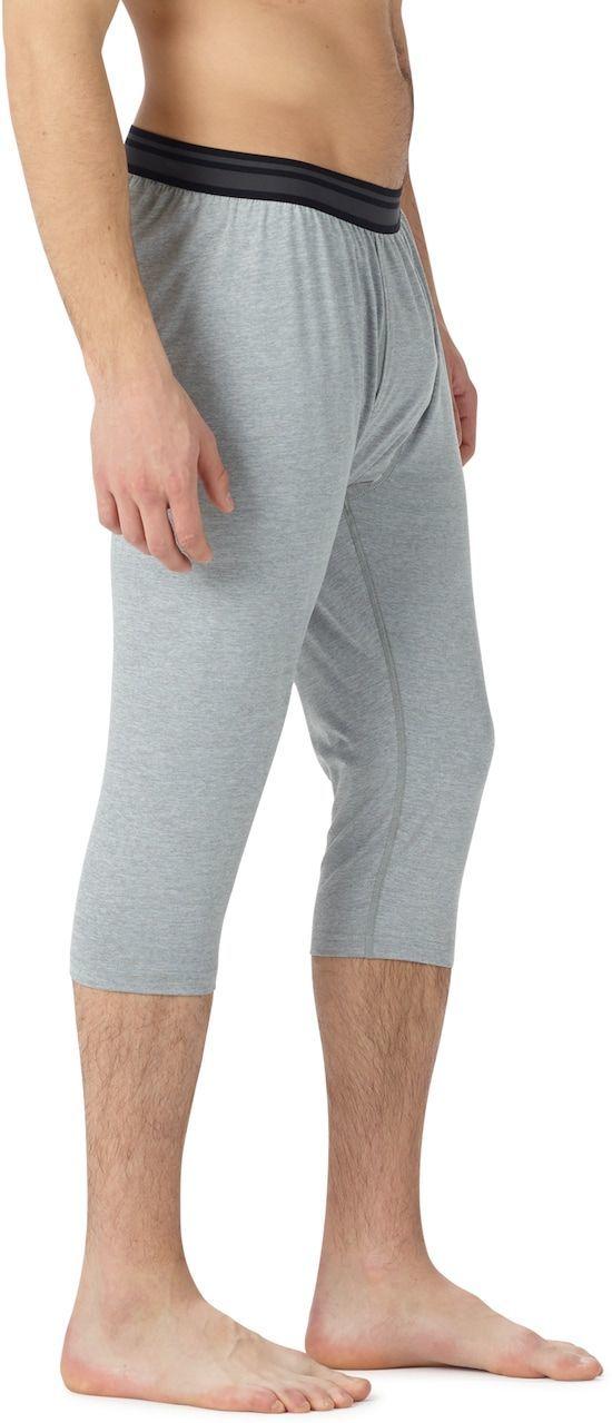 bielizna termoaktywna męska - spodnie BURTON MIDWEIGHT SHANT MONUMENT HEATHER