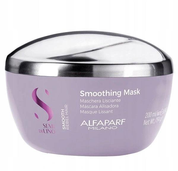 Alfaparf Semi Di Lino Smooth Maska wygładzająca włosy 200ml