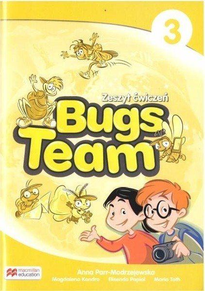 Bugs Team 3. Zeszyt ćwiczeń - Carol Read, Ana Soberón, Anna Parr-Modrzejewska
