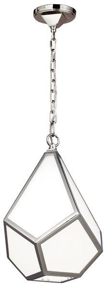 Lampa wisząca Diamond FE/DIAMOND/P/S Feiss biała oprawa w stylu design