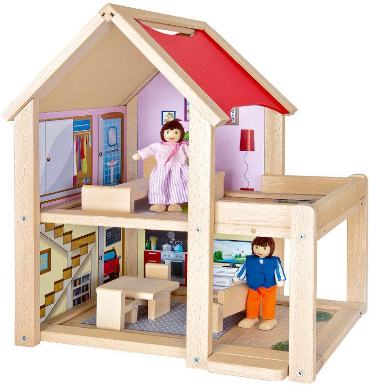 Eichhorn - Domek dla lalek z balkonem 2501