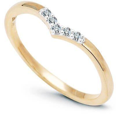 Złoty pierścionek PZD5990 - Diament