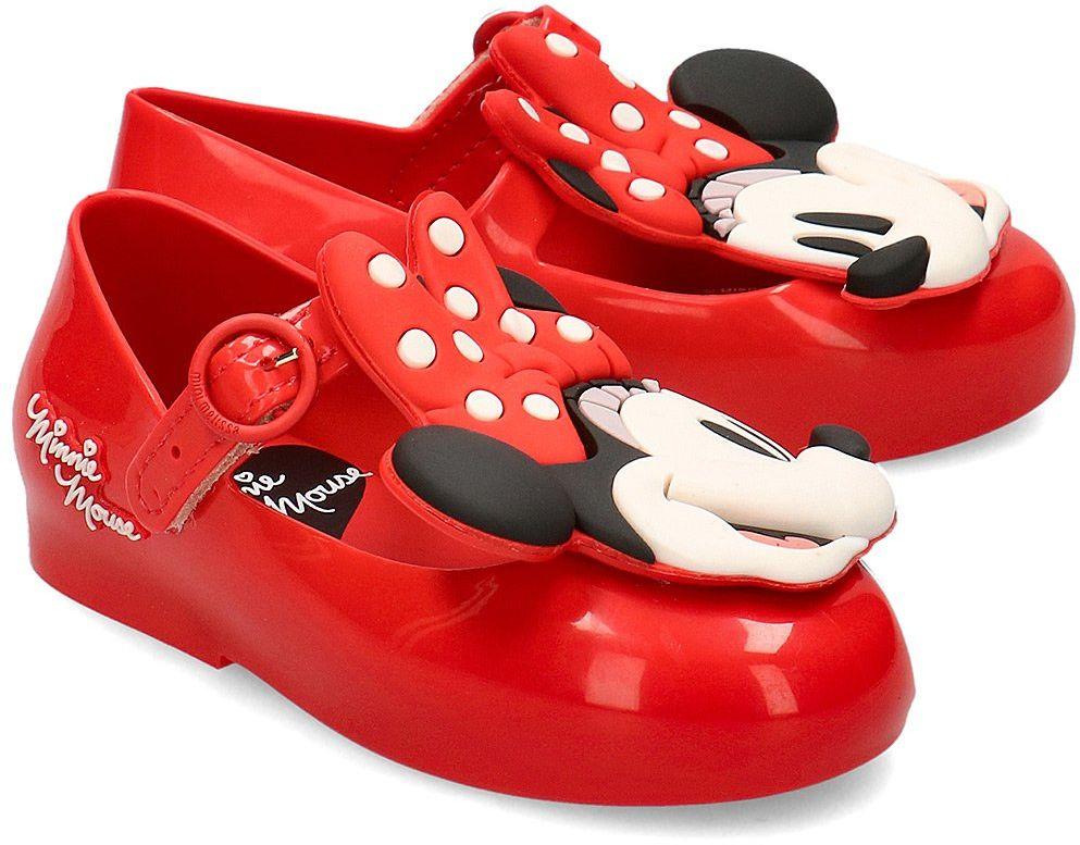 Melissa Sweet Love + Minnie - Baleriny Dziecięce - 32733 01371 - Czerwony