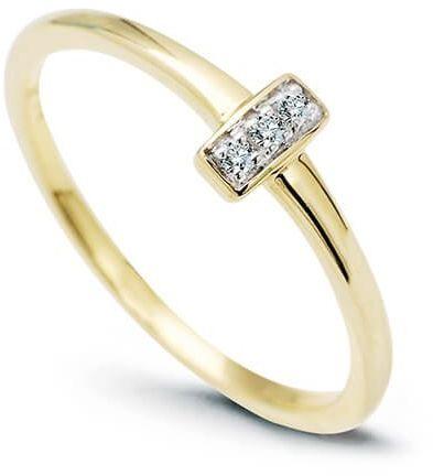 Złoty pierścionek PZD5993 - Diament