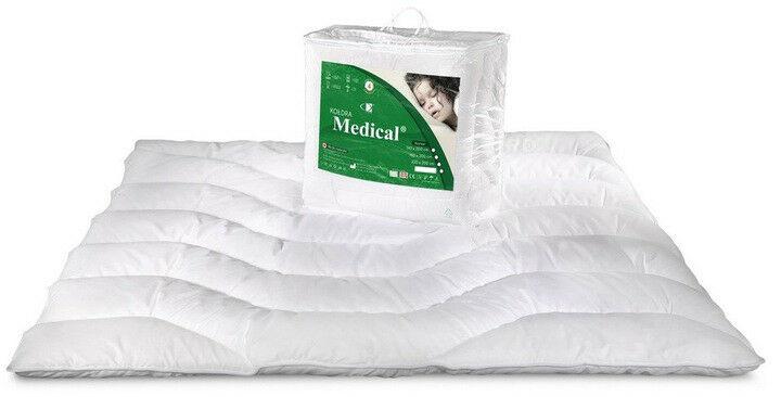 Kołdra antyalergiczna 160x200 Medical letnia biała AMW