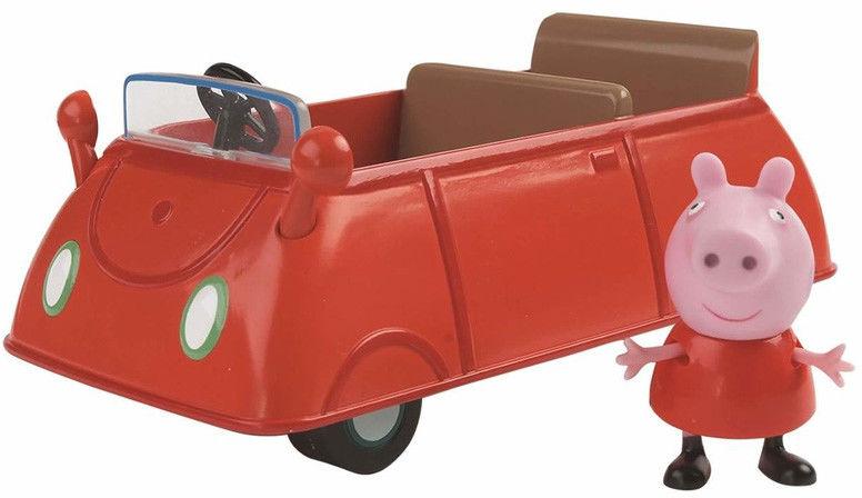Świnka Peppa - Samochód Peppy z figurką 06059