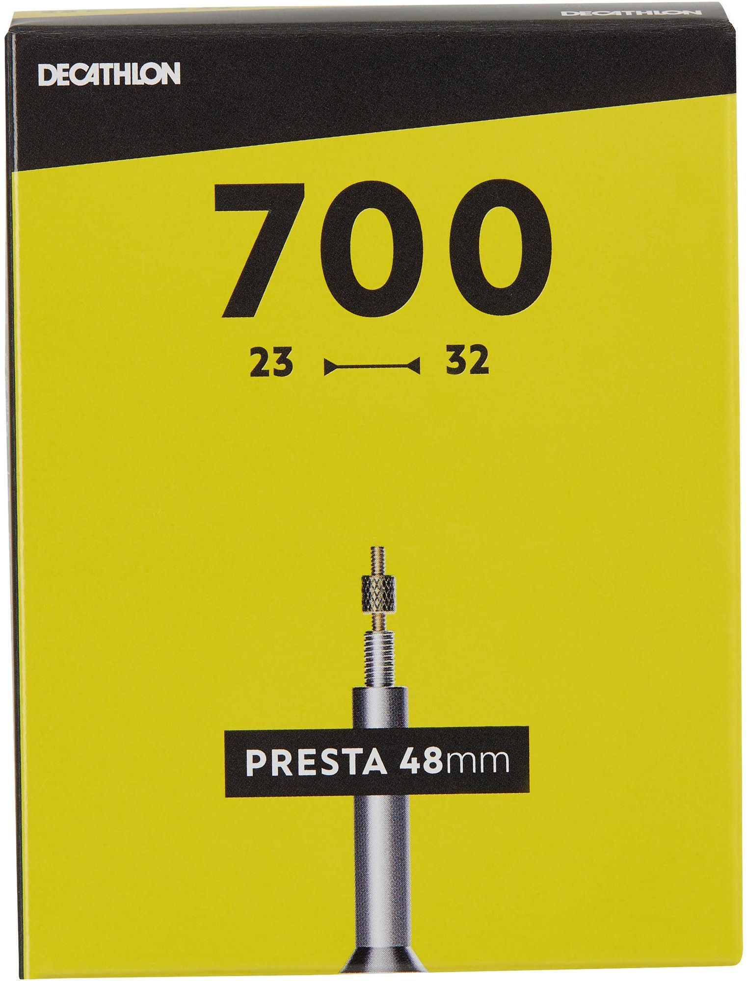 DĘTKA ROWEROWA 700x23/32 Z WENTYLEM PRESTA 48 MM