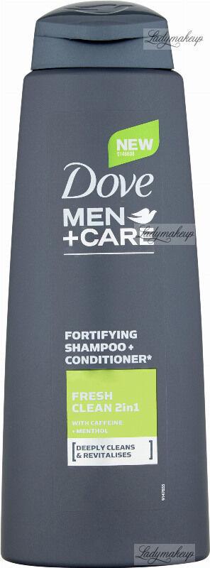 Dove - Men+Care - Fresh Clean 2in1 Shampoo + Conditioner - Szampon i odżywka 2w1 dla mężczyzn - 400 ml