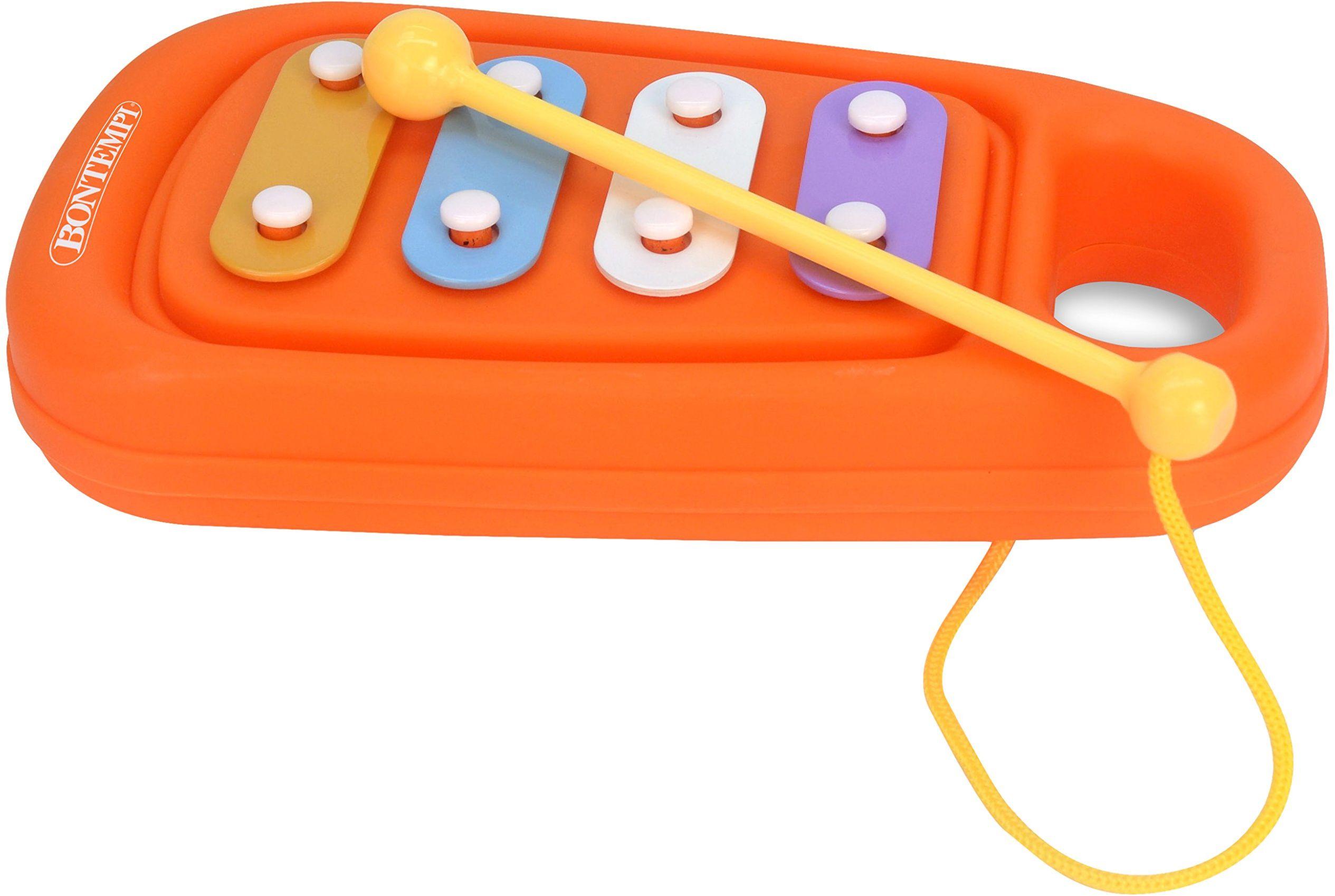 Bontempi 55 0525 ksylofon dla niemowląt, wielokolorowe