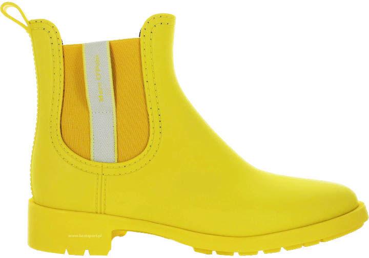 Kalosze damskie Marc O''Polo żółte 901 15067701 800 260 yellow