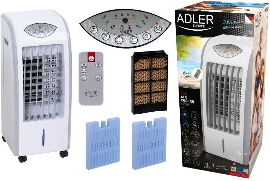 Klimator Adler AD 7915 Klimator, wentylator i nawilżacz