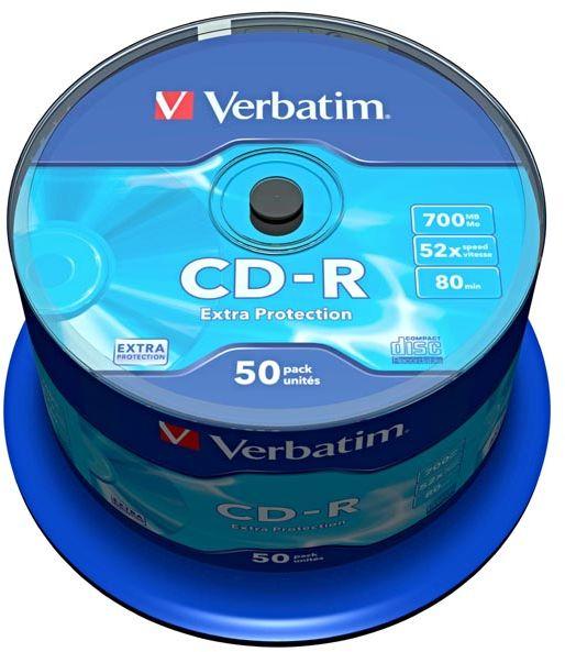 Płyta CD-R Verbatim 700MB Cake 50szt.