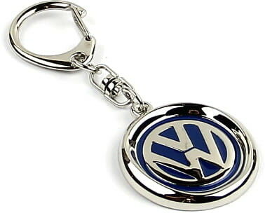 KeyChain Ltd. Brelok metalowy - Volkswagen niebieski