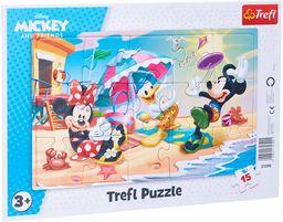 """31390 """"15 Ramkowe - Zabawy na plaży"""" / Disney Standard Characters"""