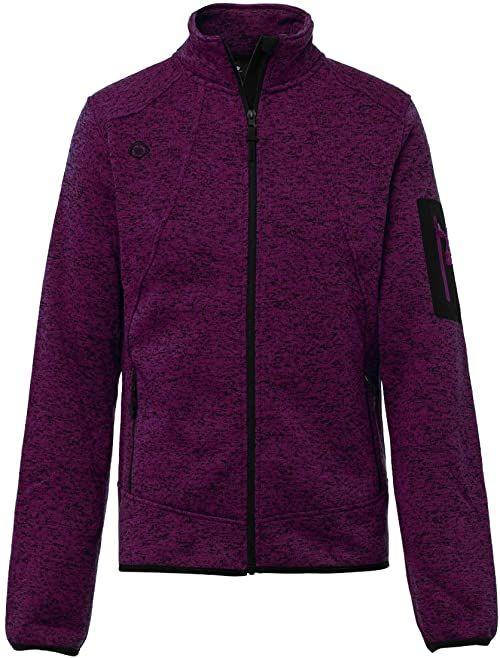 Izas Novi kurtka z dzianiny dla mężczyzn XL burgundowa czerwień
