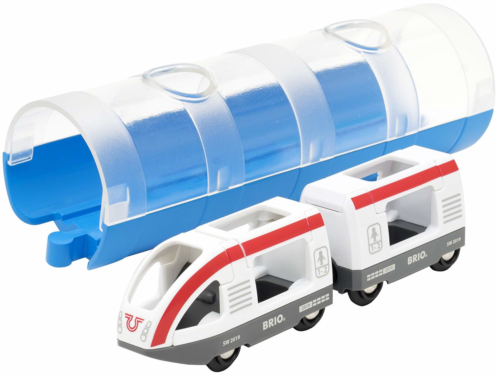 BRIO Świat - Tunel i pociąg podróżny