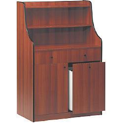 """Stacja kelnerska 2 szuflady 1 para drzwi 1 szuflada głęboka """"wiśnia"""" 940x480x(H)1450mm"""