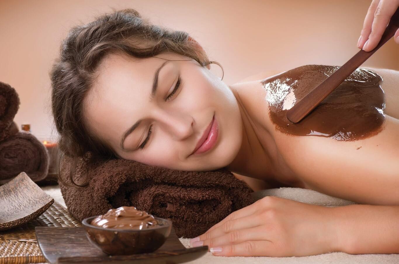 Masaż naturalną gorzką czekoladą  Płock