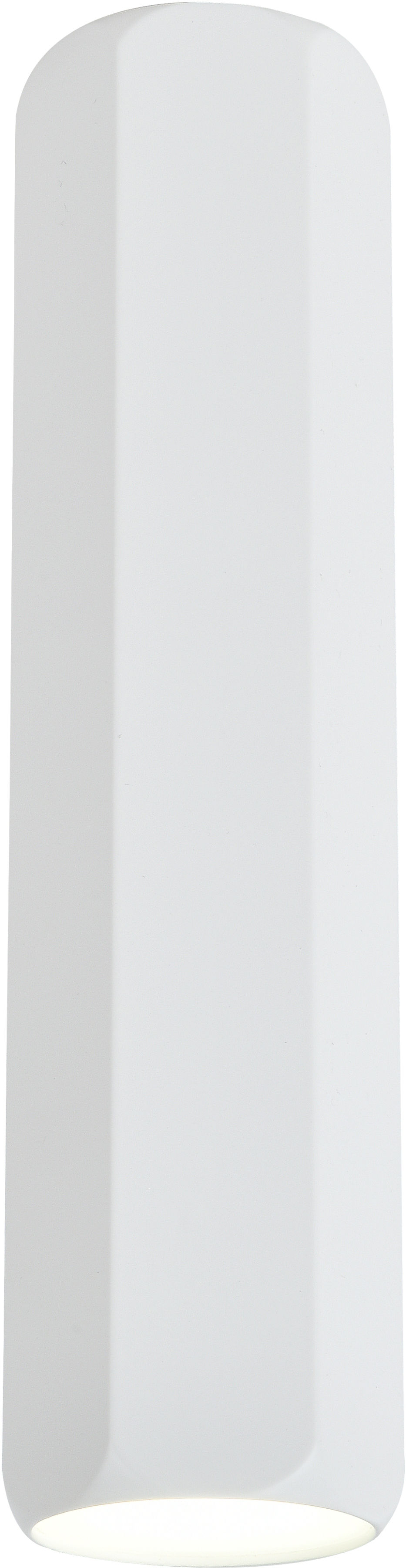 Candellux TUBA 2282800 oprawa stropowa natynkowa sześcibok biały 1X25W GU10 25 cm