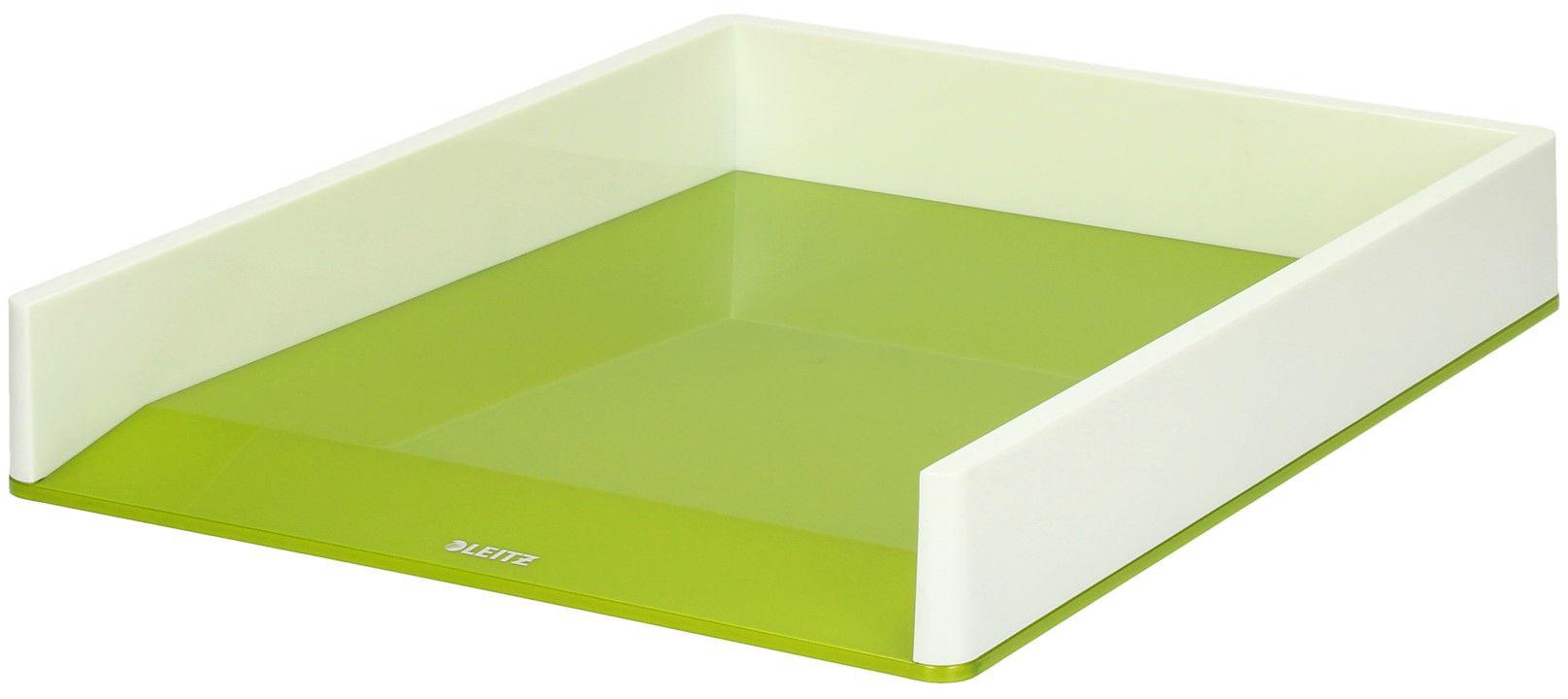 Półka dokumenty A4 biało/zielona Wow Leitz