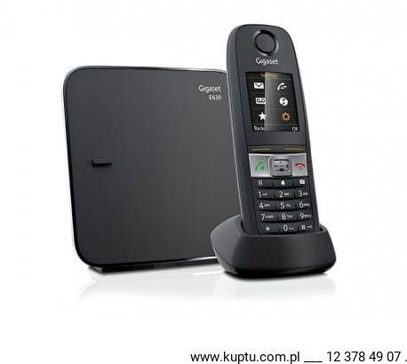 Gigaset E630, telefon DECT z przemysłowym stopniem ochrony IP65