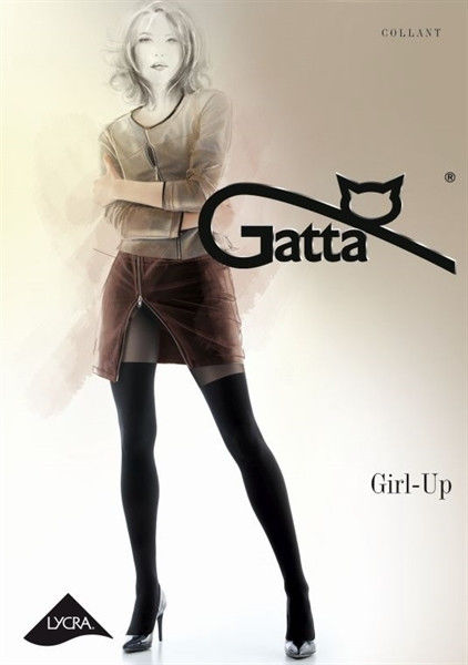 Gatta Girl-Up 25 - Tights Nero 2-S