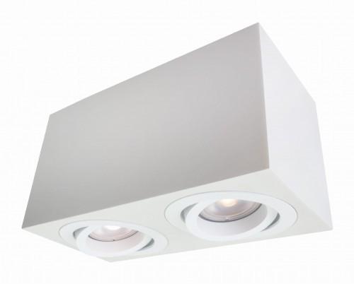 Downlight Lyon 2 natynkowy biały LP-5881/2SM WH - Light Prestige Do -17% rabatu w koszyku i darmowa dostawa od 299zł !