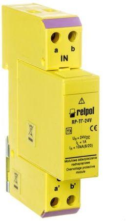 Ogranicznik przepięć linii sygnałowej 24V DC 10kA RP-TC 24V 2612923