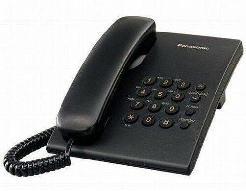 KX-TS500 Telefon analogowy CZARNY - Panasonic