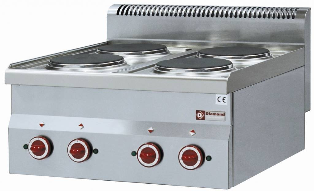 Kuchnia elektryczna nastawna 4 płytowa 8000W
