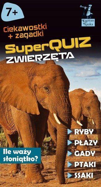 SuperQuiz: Zwierzęta - Kapitan Nauka - Justyna Kolasińska