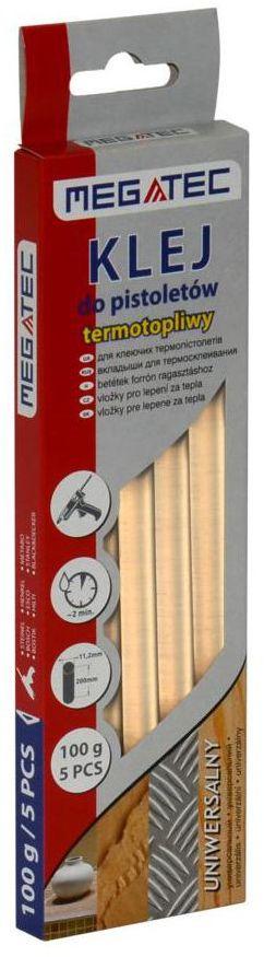 Klej termotopliwy UNIWERSALNY 11.5 mm / 200 mm 5 szt. TERMIK