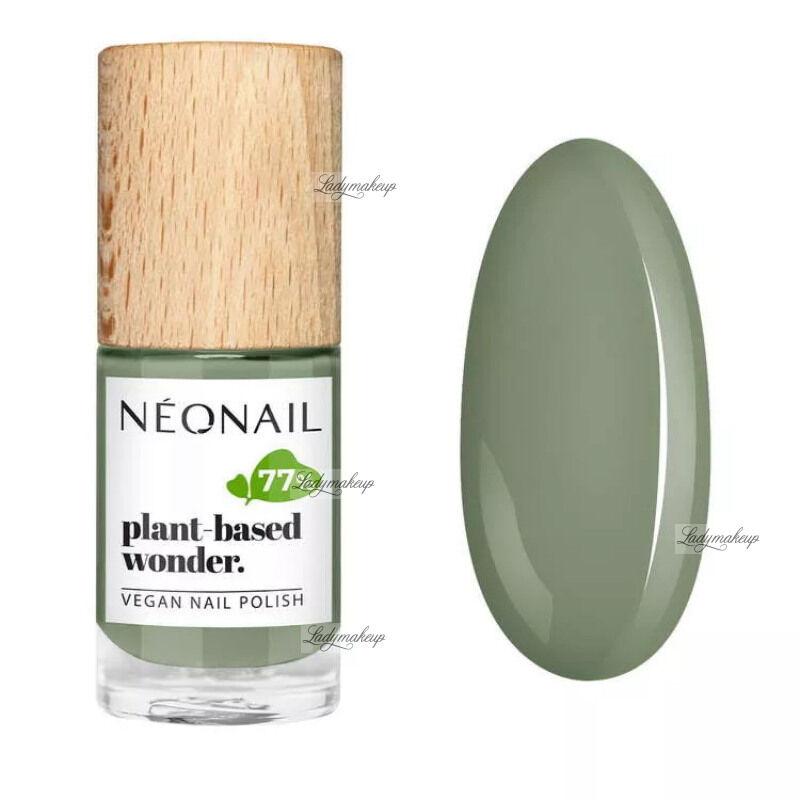 NeoNail - Plant-based wonder - Vegan Nail Polish - Wegański lakier do paznokci - 7,2 ml - 8692-7 - PURE OLIVE