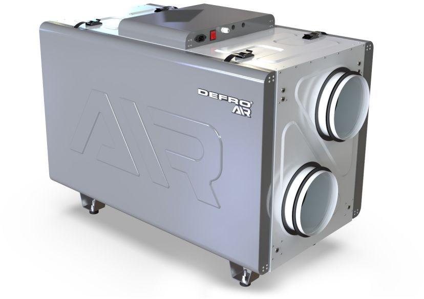 REKUPERATOR DRX 400 H - do 450 m3/h