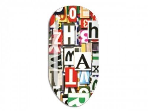 Nail Art Stikers Mollon Pro N332 naklejki do zdobienia