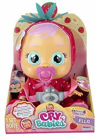 IMC Toys Cry Babies - Płacząca lalka bobas Tutti Frutti Ella 93812