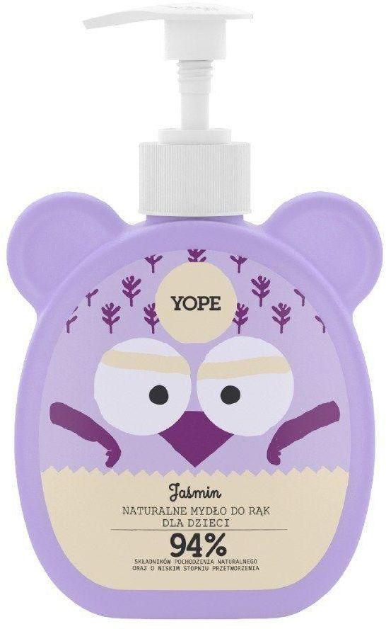 Mydło dla Dzieci Naturalne Jaśmin 400ml - Yope