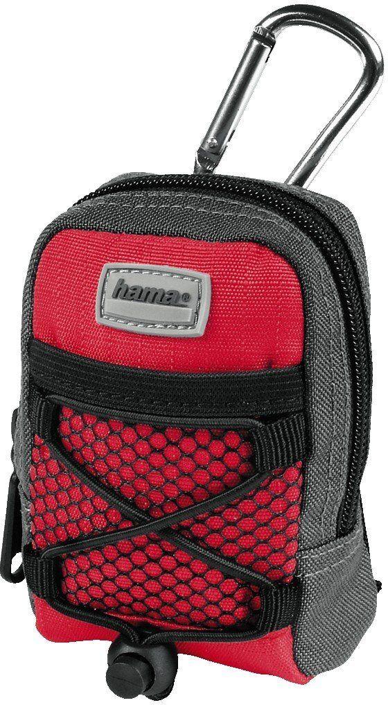 Hama Fancy Backpack DF 10 torba na aparat kompaktowy czerwony/szary
