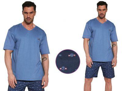 Piżama męska JOHN: niebieski