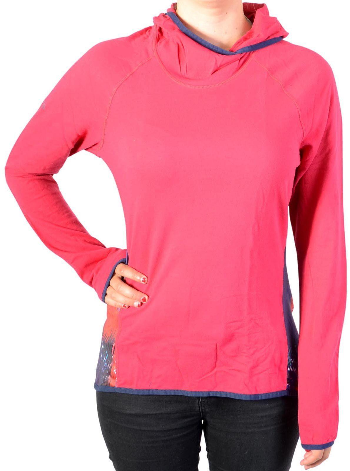 Desigual Damska koszulka Ts_long Sl Night Gar, 3037 Rojo Abril, L Knitted Long Sleeve T-shirt czerwony czerwony S