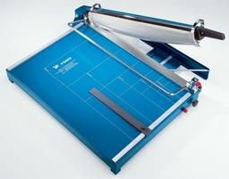 Gilotyna Dahle 567 - długość cięcia 550 mm, wysokość cięcia 3,5 mm, ostrze do papieru