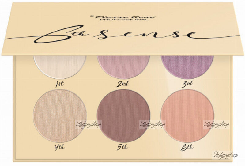Pierre René - 6TH SENSE - EYESHADOW PALETTE - Paleta cieni do powiek - No. 02 - Heathland