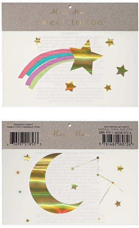 Tatuaże Gwiazdy M145837-Meri Meri, akcesoria dla dzieci