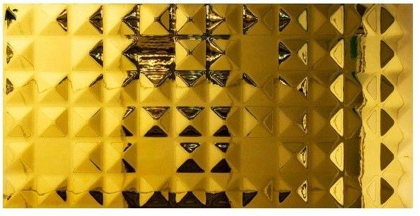 Dekor Metal Diamond Ceramstic 30 x 60 cm gold